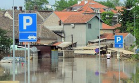 flooding in Serbia © EU
