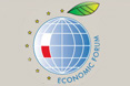 Logo of the 20th Economic Forum © Economic Forum