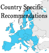 Country Specific Recommendations