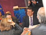 Maroš Šefčovič at the Digital Competence Day conference, Brussels.