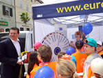 Celebrating Europe Day - Maroš Šefčovič took part in a number of events to mark the day.