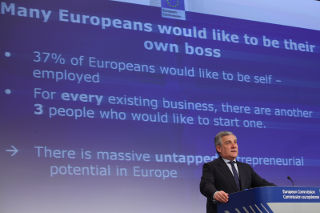 09/01/2013 - Vice President Tajani presents the European Entrepreneurship Action Plan in Brussels © European Union