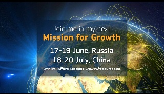 08/05/13 - Join Mr Tajani in his next Mission for Growth © European Union