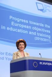 EU education report: good progress, but more effort needed to achieve targets
