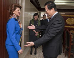 Cultural relations with China - Androulla Vassiliou opens dialogue