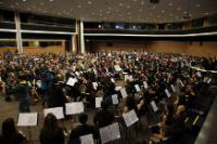 General view of the concert hall of the Cyprus Symphony orchestra