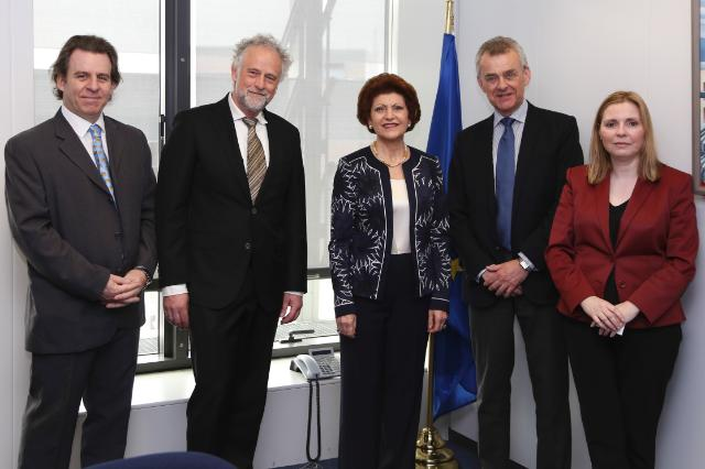 Visit of Ivar Rusdal, President of the European Newspaper Publishers Association to the EC