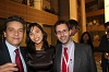 Jean Michel Sers (Policy Officer), Arya-Marie Ba Trung (Policy Officer) and Manel Laporta (Assistant Policy Officer)