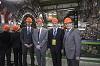 CERN Director-General Rolf Heuer with CERN staff ©CERN