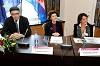Minister Željko Jovanović, Commissioner Androulla Vassiliou & Head of Unit Alessandra Luchetti