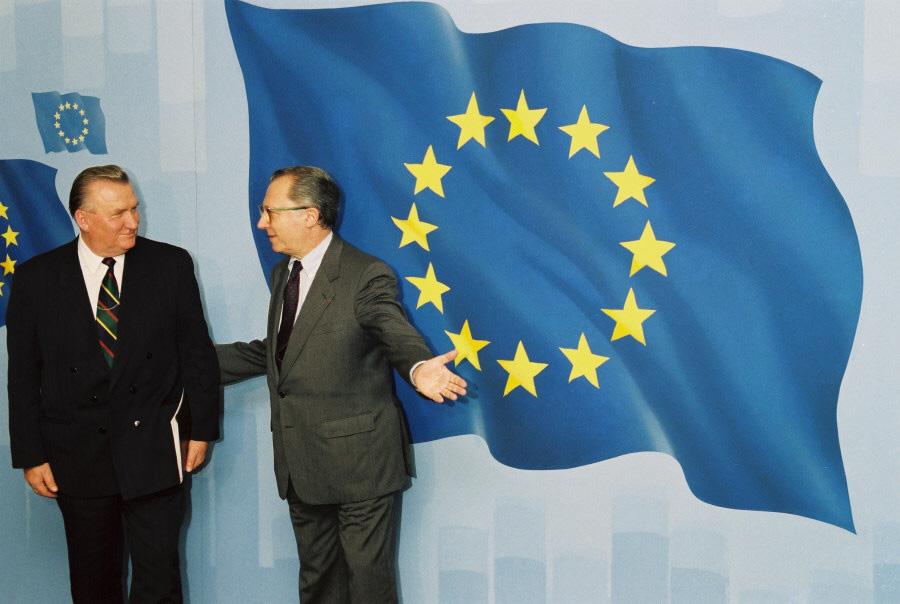 Visit of Michal Kováč, President of Slovakia, to the EC