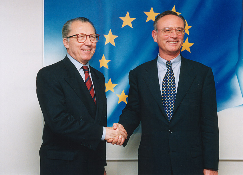 Visit of Klaus Hänsch, President of the EP, to the EC