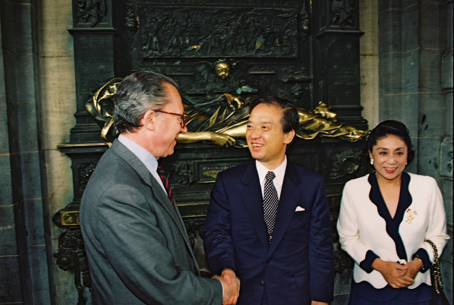Visit of Toshiki Kaifu, Japanese Prime Minister, to Brussels
