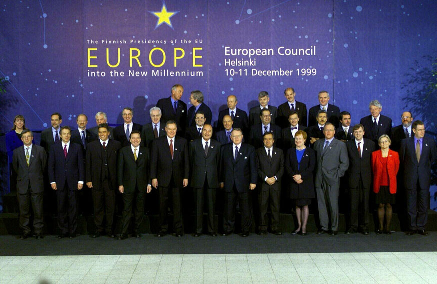European Council of Helsinki, 10-11/12/1999