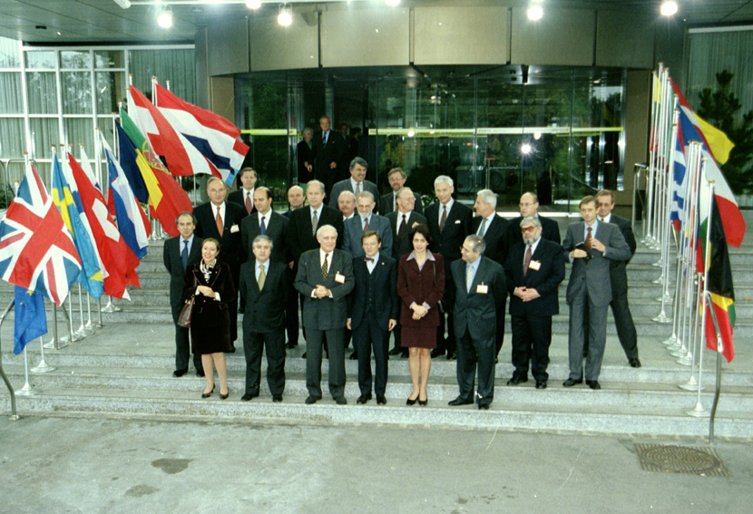 First European Conference Ministerial meeting
