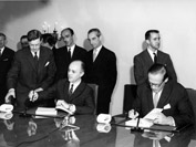 Signing of the association agreement between the EEC and Turkey