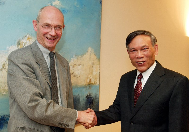 Visit of Truong Dinh Tuyen, Vietnamese Minister for Trade, to the EC