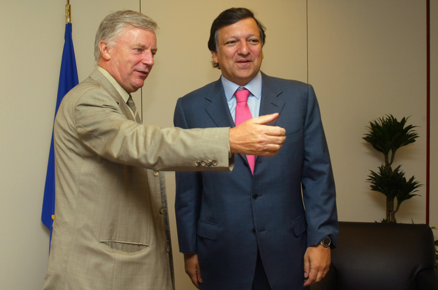 Visit of John Monks, Secretary General of the European Trade Union Confederation, to the EC
