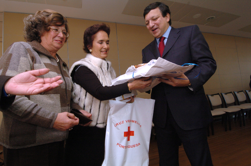 Visit of a delegation of the Portuguese Red Cross to the EC