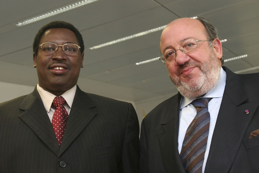 Visit of Térence Sinunguruza, Burundian Minister for External Relations and Cooperation, to the EC