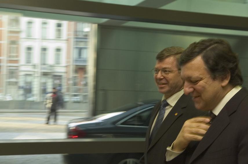 Visit of Kjell Magne Bondevik, Norwegian Prime Minister, to the EC