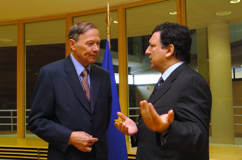 Visit of Hubert Weber, President of the European Court of Auditors, to the EC