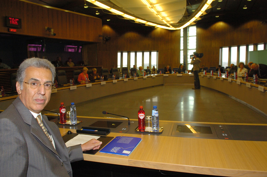 Visit of P. Nikiforos Diamandouros, European Ombudsman, to the EC
