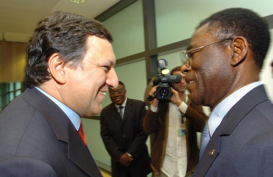 Visit of Teodoro Obiang Nguema Mbasogo, President of Equatorial Guinea, to the EC