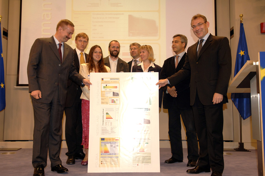 Energy performance certificate awarded to the