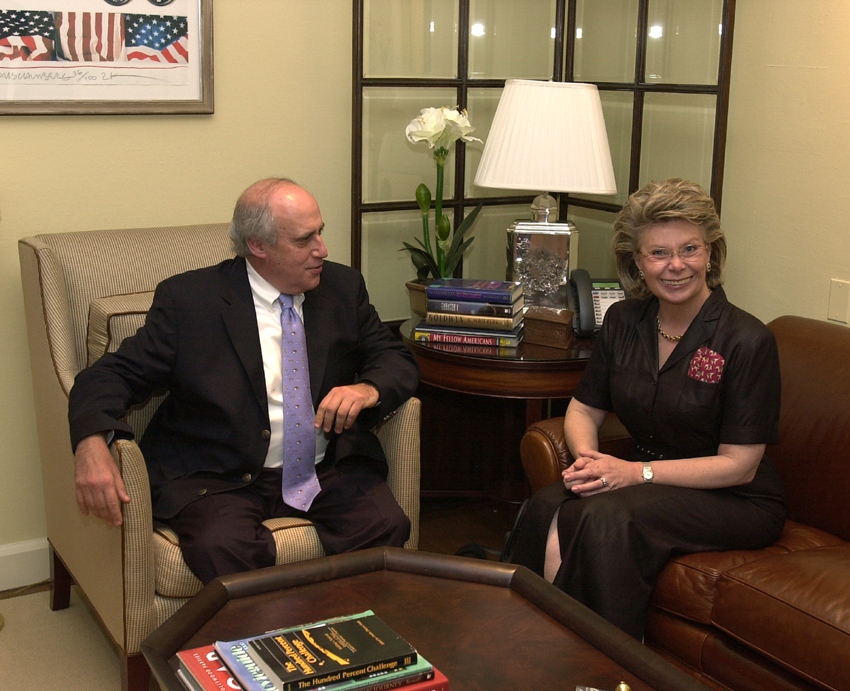 Visit of Viviane Reding, Member of the EC, to the United States