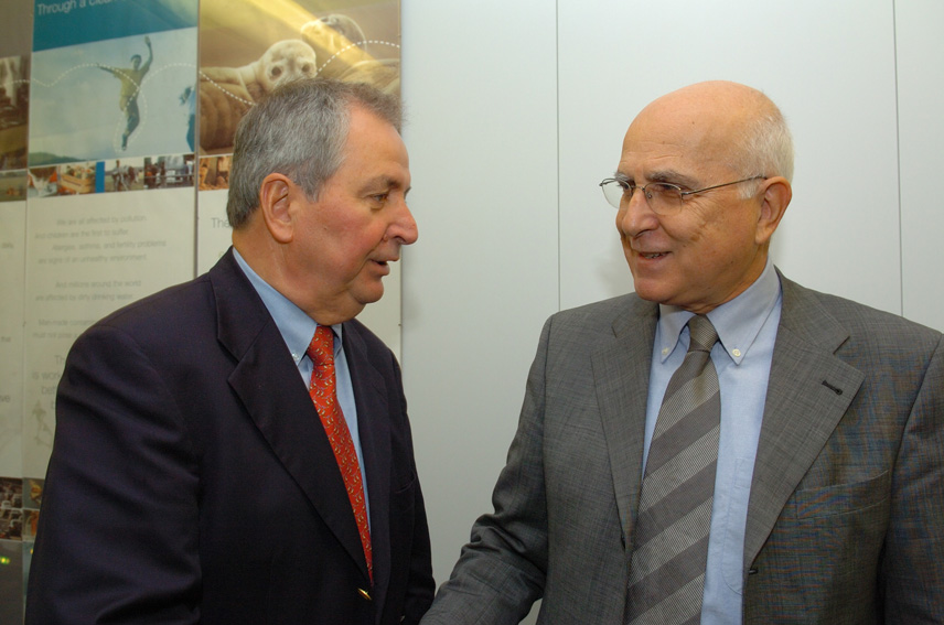 Visit of Klaus Töpfer, United Nations Environment Programme Executive Director, to the EC