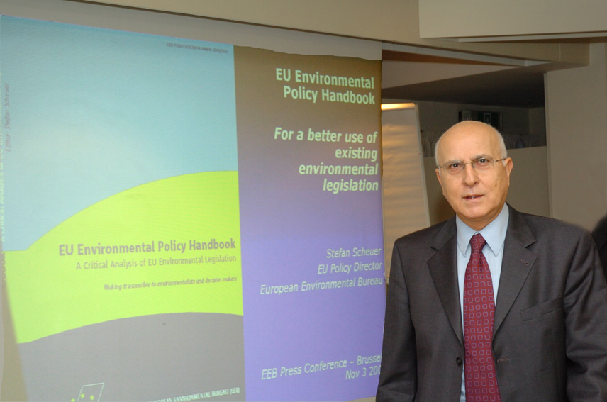 Press conference of Stavros Dimas, Member of the EC in charge of Environment