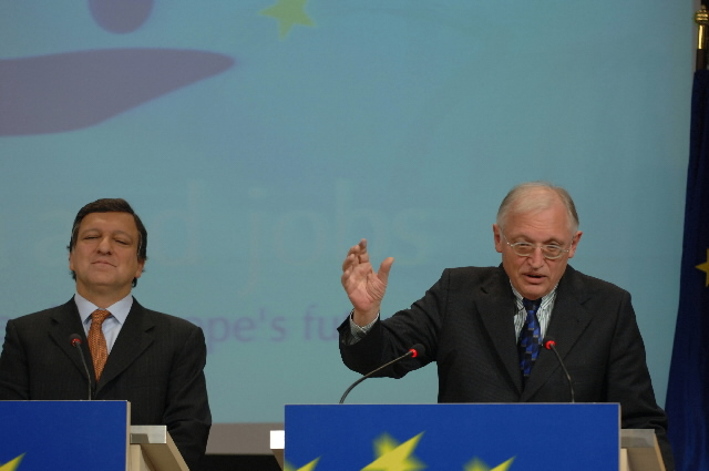 Press conference by José Manuel Barroso and Günter Verheugen, President and Vice-President of the EC, on the Lisbon Strategy for Growth and Jobs