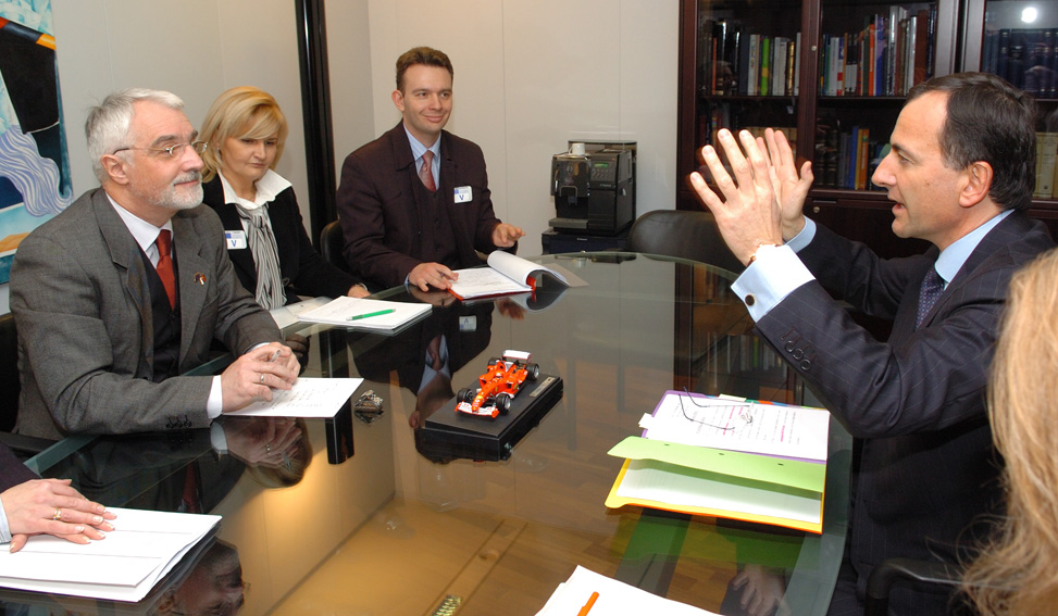 Visit by Miroljub Labus, Deputy Prime Minister of Serbia, to the EC