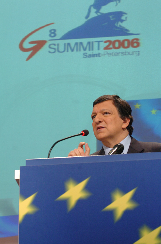 Press conference by José Manuel Barroso, President of the EC, on the G8 Summit