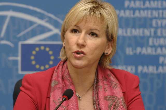 Joint press conference by Margot Wallström, Vice-President of the EC, and Alejo Vidal-Quadras, Vice-President of the EP, about the celebration of the 50th anniversary of the signature of the Treaties of Rome