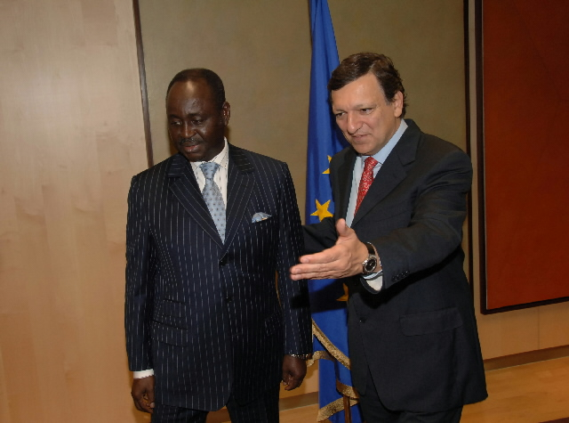 Visit by François Bozizé, President of the Central African Republic, to the EC