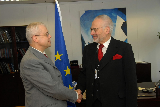 Visit by Erhard Busek, Special Coordinator of the Stability Pact for South Eastern Europe, to the EC