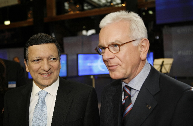 Participation of José Manuel Barroso, President of the EC, and Hans-Gert Pöttering, President of the EP in a WDR televised debate