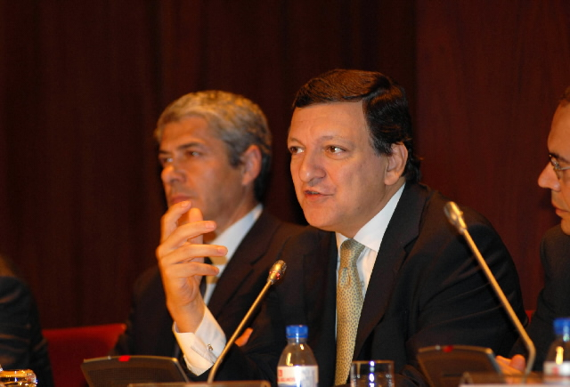 "Participation of José Manuel Barroso in the ""The Global Challenge of Energy and Climate Change: The EU Vision for a Sustainable Future after 2012"" conference"