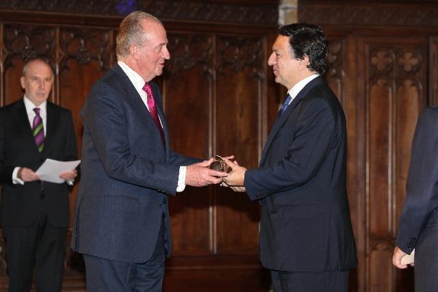 Awarding of the Conde de Barcelona prize to José Manuel Barroso, President of the EC