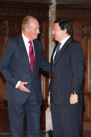 Awarding of the Conde de Barcelona prize to José Manuel Barroso, President of the EC