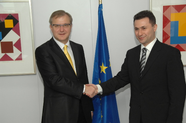 Visit by Nikola Gruevski, Prime Minister of the former Yugoslav Republic of Macedonia, to the EC
