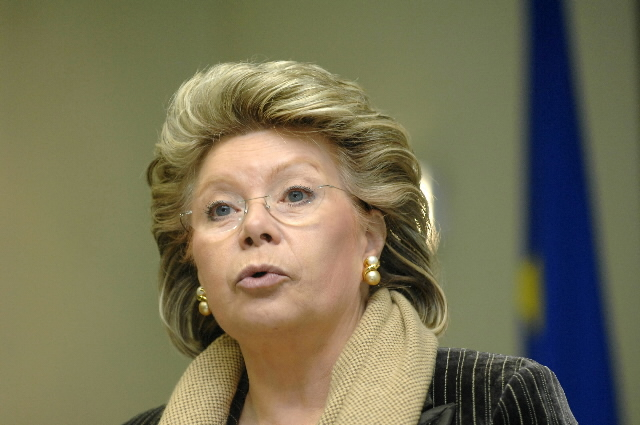 Participation of Viviane Reding in the