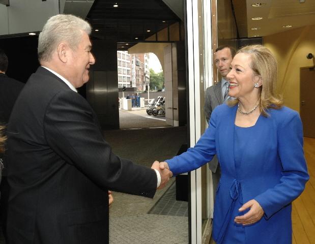 Visit of Vladimir Voronin, President of Moldova, to the EC