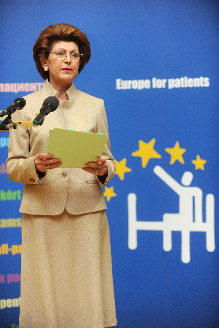 Participation of Androulla Vassiliou, Member of the EC, in the launch of the Europe for patientscampaign
