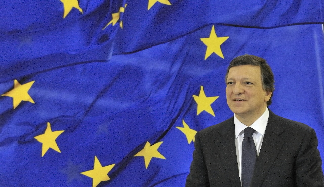 Portrait of José Manuel Barroso, President of the EC