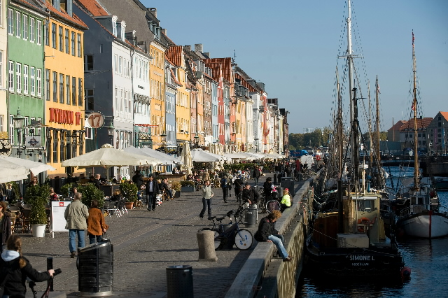 The capitals of the EU: Copenhagen