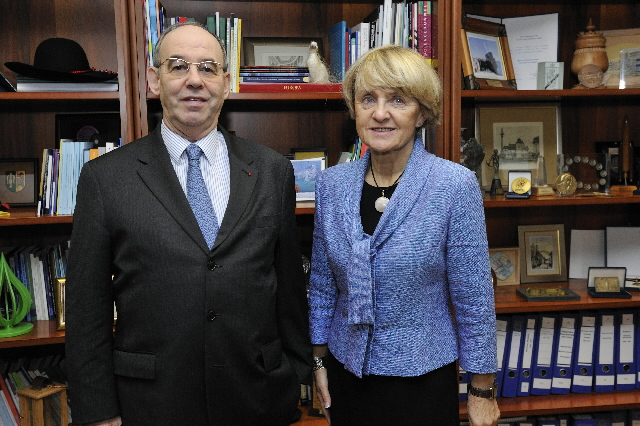 Visit of Raphaël Alomar, Governor of the Council of Europe Development Bank, to the EC