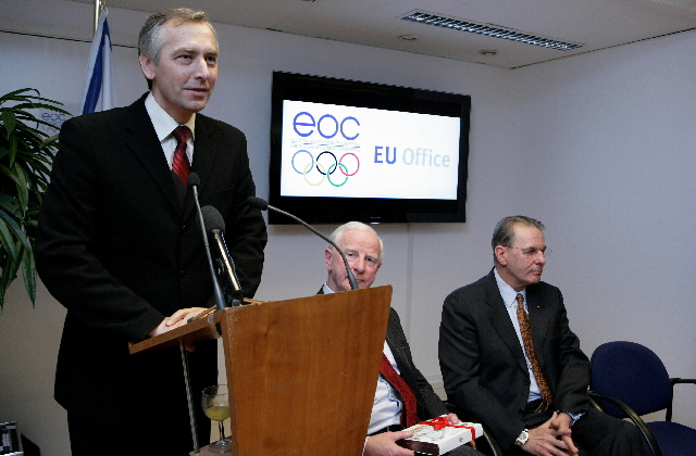 Opening of a new office of the International Olympic Committee in Brussels